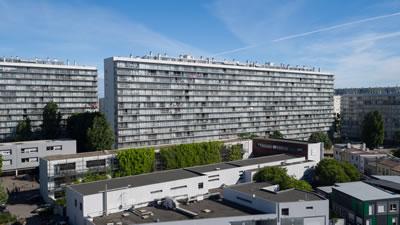 <p><strong>5.</strong> Bordeaux Grand Parc G, H, I binalarının dönüşümü,  cephe </p>