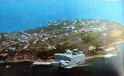 <p><strong>5.</strong> 1971 yılında Grand Hotel  Bayramoğlu ve yakın çevresi<br /> Kaynak: Anonim, 1971, Bayramoğlu Sahil Sitesi Tanıtım Kitapçığı, Doğan Matbacılık Sanayi,  İstanbul</p>