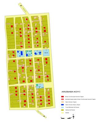 <p><strong>5.</strong> Kırklareli  Arizbaba Göçmen Köyü durum planı, 2005</p>