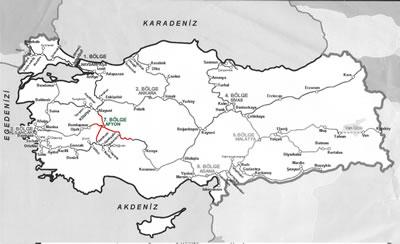 5. Türkiye Demiryolları içerisinde Afyonkarahisar.
