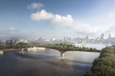 <p><strong>5.</strong> The Garden Bridge, Londra<br />Kaynak: Arup</p>