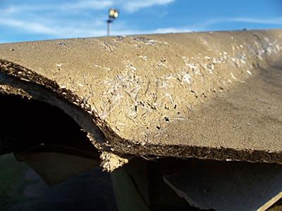 <p><strong> 5. </strong></a>Asbestli yapı ürünleri, çatı.</p>