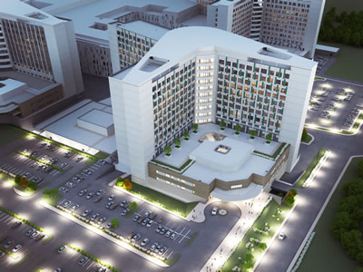 <p><strong>5.</strong> Yapımı devam eden Etlik Şehir  Hastanesinin yapıları</p>