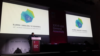 <p><strong>5. </strong>2005 yılında  İstanbulda, en yüksek katılımlı beş kongreden birisi olan 22. Dünya Mimarlık  Kongresini düzenleyen TMMOB Mimarlar Odası, 2023 yılında Kongreye evsahipliği  yapmak üzere Antalya kentini aday göstermişti. Yapılan oylama sonucu 28. Dünya  Mimarlık Kongresine evsahipliği yapmak üzere Kopenhag (Danimarka) seçildi.</p>