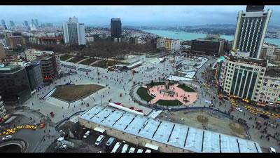 <p><strong>5.</strong> Taksim  Meydanı, Gezi Parkı, AKM.</p>
