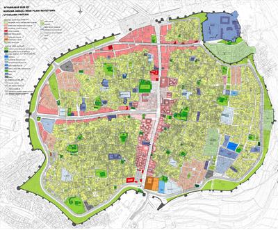 <p><strong>5.</strong> 2012 de  hazırlanan Suriçi Koruma Amaçlı İmar Planı</p>