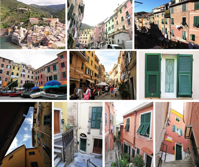 <p><strong>5. </strong>Vernazza kasabasına ait yere  özgü durumlar</p>