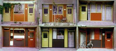 <p><strong>5b.</strong> Hollandanın ilk &ldquo;Açık Yapı&rdquo; örneği olan  Molenvliet Projesi, Fans van der Werf, 1974.</p>