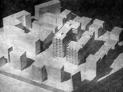 <p><strong>5c. </strong>Sosyal Sigortalar Kurumu Kızılay Tesisleri, 1973, O. Dinç<br />Kaynak: 1973, <strong>Arkitekt</strong>, sayı:4 (352), s.199 </p>