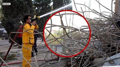 <p><strong>6. </strong>Depremde  3 katı çöken<strong> </strong>Yılmaz Erbek  Apartmanında nervürlü demir kullanıldığı görülüyor<br />Kaynak: https://www.bbc.com/turkce/haberler-turkiye-54975485