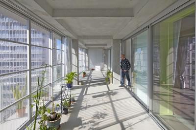 <p><strong>6.</strong> Bordeaux Grand Parc G, H, I binalarının dönüşümü, ara mekânlar</p>