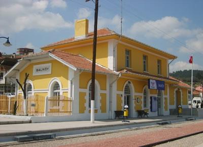 <p><strong>Resim </strong><strong>6.</strong> Balıköy İstasyonu <br /> Fotoğraf: Şule Feza Sezginalp,  2007</p>
