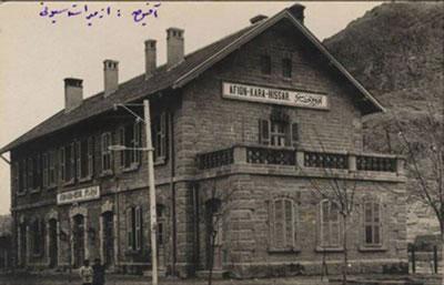 6. İlk Afyon İstasyonu eski ve şimdiki durumu. (Fotoğraf: Necdet Cevahir, URL1)