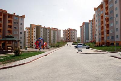 Türkiye'nin çeşitli kentlerdeki TOKİ toplu konut üretimlerinden örnekler. Muş (www.manşetemlak.com)
