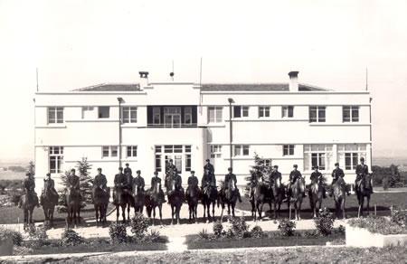 6. Misafirhane binasının ilk yıllardaki görünümü