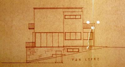 <p><strong>Resim  6. </strong>Kuzeybatı cephesi  çizimi, Egli, 1935<br />  Kaynak: ABB Arşivi</p>