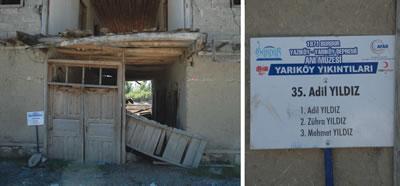 <p><strong>6.</strong> Yarıköy yıkıntıları (no.35)<br />Fotoğraf: Özyıldıran,  2015.</p>