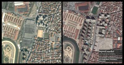 """<p><strong>6. </strong>Zeytinburnu Belediye Başkanı Murat Aydın,  """"Zeytinburnunda 5 yıl içinde mini bir Barselona inşa etmek  istiyoruz."""" demişti. #öncesonra<br />  Kaynak: Beyond İstanbul</p>"""