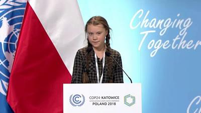 <p><strong>6.</strong> Son ayların bir başka önemli gündem  maddesi de 2-14 Aralık 2018 tarihinde gerçekleşen Birleşmiş Milletler (BM)  İklim Zirvesi (COP24) idi. Başka bir ölçekteki bir kriz maddesi olan iklim  değişikliği üzerine olan konferansta konuşan 15 yaşındaki Greta Thunberg, yerel  yönetimden ülke politikalarına kadar uzanan düzeylerde adımların atılması ve  medyanın gündeminin iklim krizi olması gerektiğini belirtti.</p>