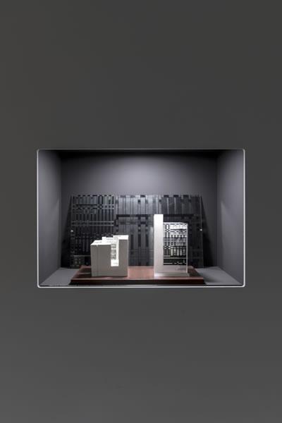 <p><strong>6.</strong> Sergiden,  Ömer-Şevki Pekin tasarımı Ara Güler Fotoğraf Müzesi projesinin maketi<br />   Fotoğraf: Kayhan Kaygusuz</p>
