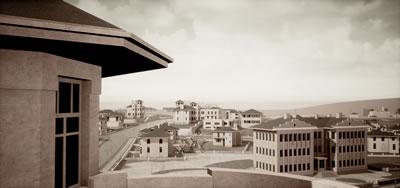 <p><strong>6.</strong> Cemil Uybadin Köşkü taraçasından Gazi  Mustafa Kemal Bulvarı ve Kızılay Genel Müdürlüğü, 1933.<br />   Kaynak: Bir Şehir Kurmak:  Ankara 1923-1933 araştırma ekibi</p>