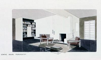 <p><strong>6b.</strong> Önder Küçükermanın 1962 senesinde yaptığı  proje<br />Kaynak: Önder Küçükerman  arşivi</p>