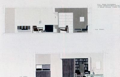 <p><strong>6c.</strong> Önder Küçükermanın 1962 senesinde yaptığı  proje<br />Kaynak: Önder Küçükerman  arşivi</p>