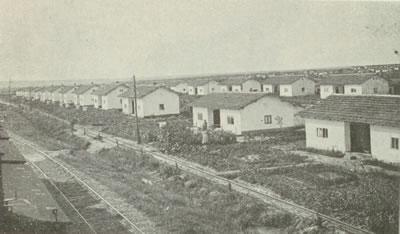 <p><strong>7.</strong> Tekirdağ  Muratlı Örnek Köyü, genel görünüm, 1930'ların sonu<br />(Kaynak: <strong>6. İzmir Fuarı Trakya Broşürü</strong>, [39])</p>