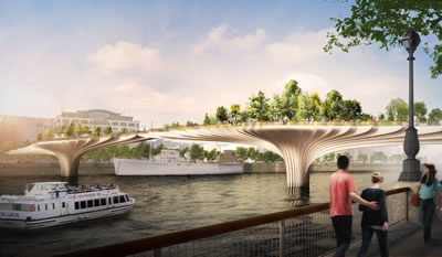 <p><strong>7.</strong> The Garden Bridge, Londra <br />Kaynak: Arup</p>