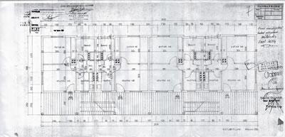 <p><strong>7.</strong> Ege Mahallesi Sosyal  Konutları, Kat Planları, 1969.<br />  Kaynak: Konak Belediyesi Arşivi.</p>