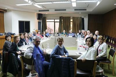 <p><strong>7. </strong>2017-2020 yılları arasında  görev yapacak yeni seçilen ICOMOS Uluslararası Yönetim Kurulunun ilk  toplantısı</p>