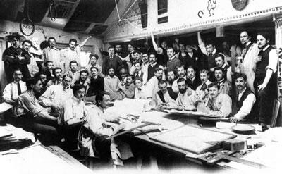 <p><strong>7. </strong>Güzel Sanatlar Okulu&rsquo;ndaki  Pascal Atölyesi, 1900 ler</p>