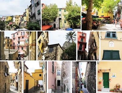<p><strong>7. </strong>Corniglia kasabasına ait yere  özgü  durumlar </p>