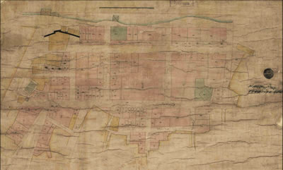 <p><strong>Resim  7.</strong> İAK (HRT-006989) numaralı  Demirkapı Sahili düzenleme haritası, 14 Aralık 1867 (17 Şaban 1284)</p>
