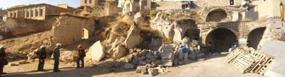 <p><strong>7.</strong> 612-614 parseller temizlik öncesi, Eylül  2014<br />   Kaynak: Argos Yapı arşivi</p>