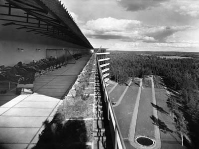 <p><strong>7.</strong> Alvar Aaltonun  Paimio Sanatoryumunun güneşlenme terası binası<strong></strong></p>