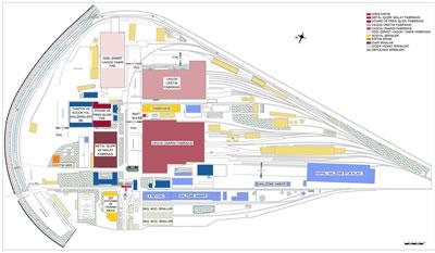 <p><strong>7. </strong>Fabrika yerleşkesinin 2019 yılı itibariyle mevcut  durumu ve yerleşimi <br />   Kaynak: TÜDEMSAŞ  arşivi</p>