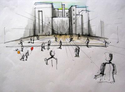 <p><strong>7a.</strong> 5 Saniyelik Performans, IMIAD Edinburgh Workshop,  2009.</p>