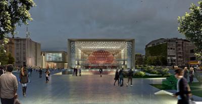 <p><strong>7a. </strong>Yapılması  planlanan yeni AKM projesi, Tabanlıoğlu Mimarlık, 2017.</p>