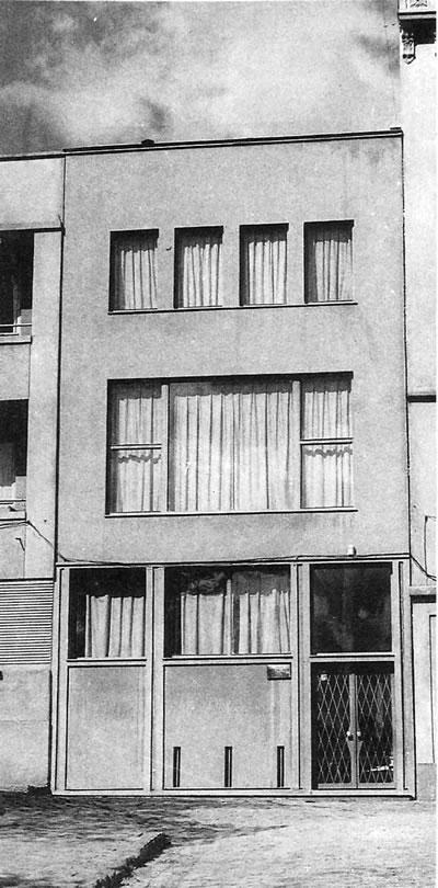 <p><strong>7a.</strong> Dr. Fahrettin Belen Evi, Beşiktaş-İstanbul, 1943.</p>
