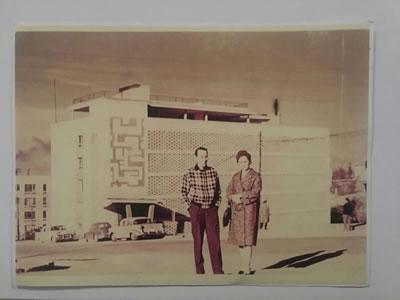 """<p><strong>7a.</strong> 1960 lar Ankarasının en göze  çarpan modern konut bloğu örneklerinden Cinnah 19 - """"Benim en önemli yapım  olan bu bina çocuğum gibidir."""" Bu yapı şu an Mimarlar Derneği 1927'ye ev sahipliği yapıyor<br /> <br />Kaynak: Mimar Nejat Ersin kitabı s. 59, NEFA001053"""