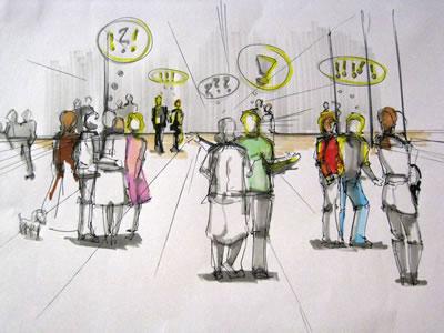 <p><strong>7b.</strong> 5 Saniyelik Performans, IMIAD Edinburgh Workshop,  2009.</p>