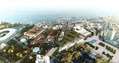 <p><strong>7b. </strong>Yapılması  planlanan yeni AKM projesi, Tabanlıoğlu Mimarlık, 2017.</p>