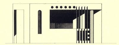 <p><strong>7c.</strong> Kuzey görünüşü<br />  Kaynak: 1987, <strong>Mimarlık</strong>, sayı:226, ss.68-77</p>