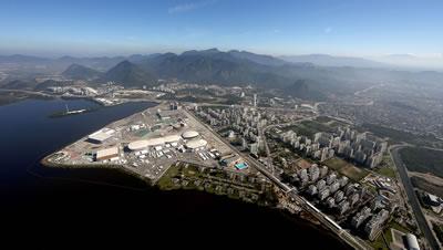 <p><strong>8. </strong>Olimpiyat Yerleşkesi Barra da Tijuca</p>