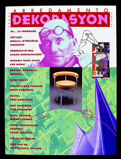 <p><strong>8.  Arredamento Dekorasyon</strong>, 1990, sayı:13.</p>