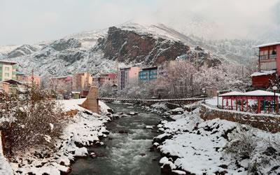 <p><strong>8.</strong> Barhal Çayı kuzey kesimi kent içi  köprü geçişi ve yakın çevresi </p>