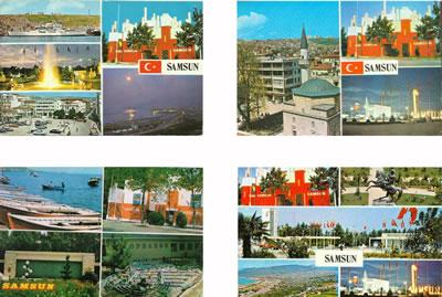 <p><strong>8.</strong> <em>Dönemin kartpostallarında Samsun Fuarı TEKEL Pavyonu </em><br /> <em>Kaynak: Yazar arşivi</em></p>