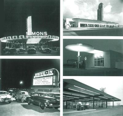 8. Yol kenarı mimarlığı ve örnekler, 1951