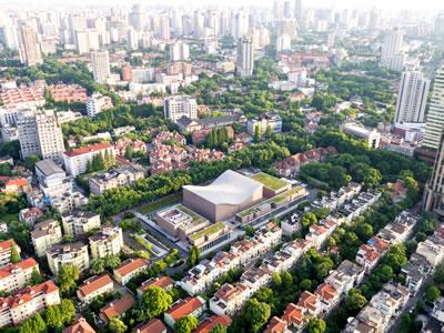 <p><strong>8a.</strong> Şangay Senfoni Salonu, 2008-2014,  Şangay, Çin<br />   Fotoğraf: Chen Hao</p>